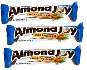 Almond Joy Candy Bar 36ct