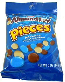 Almond Joy Pieces 5oz