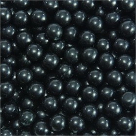 Black Mini Chocolate Balls 2 1/2lb Bag Sixlets