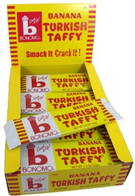 Bonomo Turkish Taffy Banana 24ct