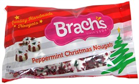 Brachs Christmas Candy Peppermint Nougats 13oz