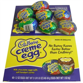 Cadbury Chocolate Eggs, Love �Em Or Hate �Em?