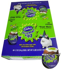 Cadbury Halloween Screme Eggs 48 Count