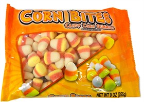 Candy Corn Gummie Bites 9oz Bag