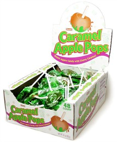 Caramel Apple Lollipops 48ct