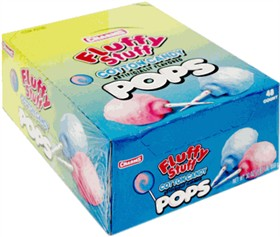 Charms Cotton Candy Lollipops 48 Count
