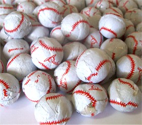 Chocolate Baseballs 2lb Made In The USA