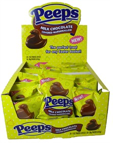 Milk Chocolate Covered Peeps 24ct