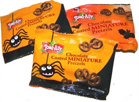 Chocolate Covered Mini Pretzels Mini Bags 20ct Halloween