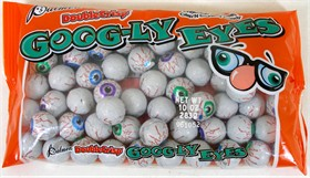 Chocolate Eyeballs Googly Eyes 9oz