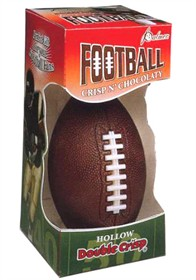 Hollow Chocolate Football 5.5oz