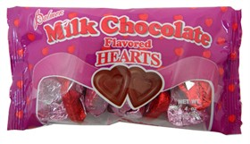 Chocolate Hearts 4oz Bag 