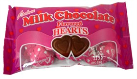 Milk Chocolate Hearts 4oz Bag
