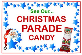 Christmas Parade Candy