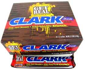 Clark Bars DARK Chocolate All Natural 24ct