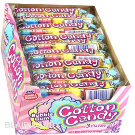 Cotton Candy Dubble Bubble Gum 36ct