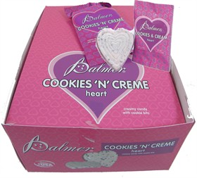 Cookies & Creme Valentine Hearts 24ct