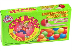 Cry Baby Gum 4oz Theater Box