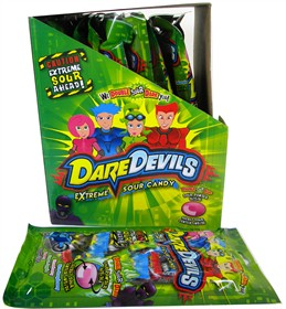 Dare Devils Extreme Sour Candy 18ct