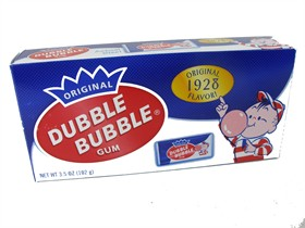 Double Bubble Bubble Gum 17ct