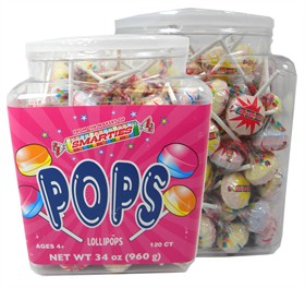 Smarties Pops  Lollipops 120ct