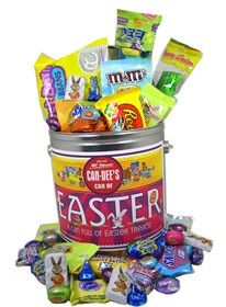 Can Full Of Easter Candy (62 Pieces)