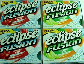 Eclipse Fusion Sugarfree Gum 10pk