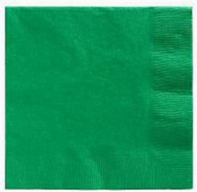 Emerald Green Lunch Napkins 50 Count