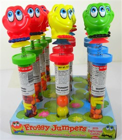 Froggy Jumpers Novelty Candy 12ct