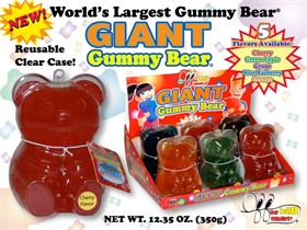 Giant Gummy Bears
