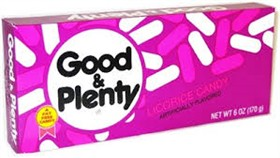 Theater Size / Movie Size Candy - Good & Plenty 6oz