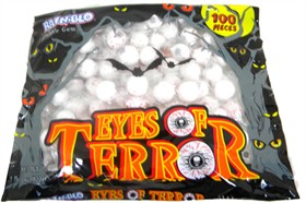Halloween Terror Gumball Eyes 100ct Bag