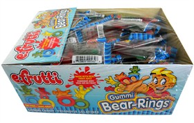 Gummi Bear Rings 80 Count