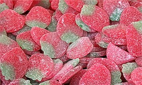Gummi Tangy Strawberries 5.5lb Bag