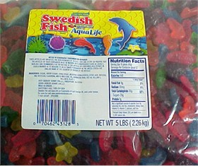 Aqua Life Gummy Sea Creatures 5lb Bulk