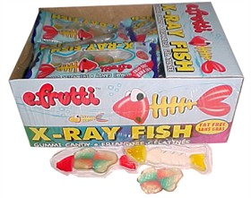 Gummi X-RAY Fish  36ct