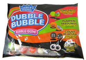 Dubble Bubble Halloween Combo Gumballs  12oz Bag