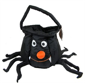 Halloween Soft Treat Basket Spider Small