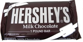 Hershey's Milk Chocolate 1lb Bar