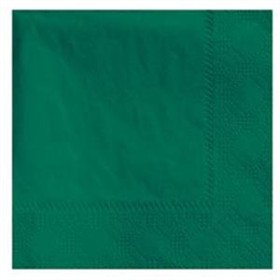 Hunter Green Beverage Napkins 3 Ply - 50 Count