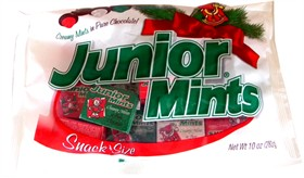 Junior Mints Snack Size Christmas 10oz