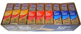 Lance Whole Grain Crackers Variety Pack 36ct