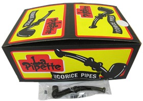 Licorice Pipes Black 60ct