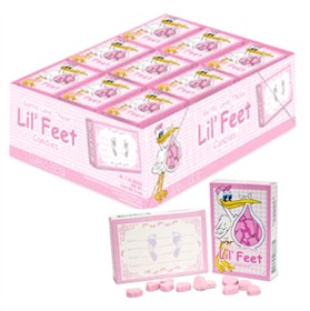 Lil' Feet Candy It's a Girl 36ct