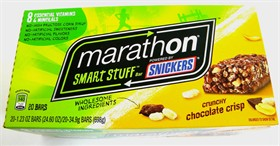 Marathon Smart Stuff Bar Crunchy Chocolate Crisp 20ct