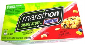 Marathon Bar Smart Stuff Crunchy Trail 20ct
