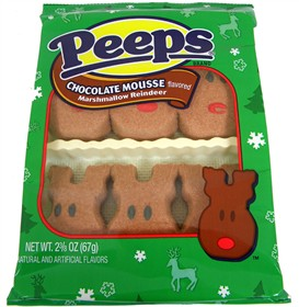 Marshmallow Peeps Chocolate Mouse