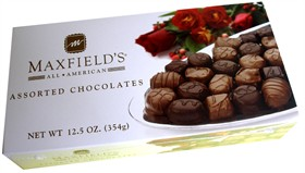 Maxfield's All American Assorted Boxed Chocolates 12.5oz