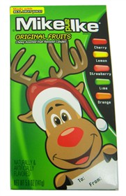 Mike and Ike Christmas Pack 5oz Box