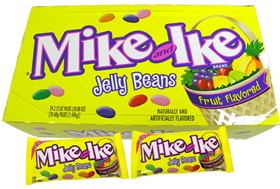 Mike and Ike Fruit Jelly Beans 24ct